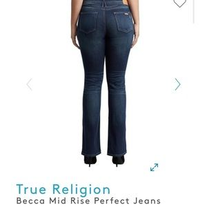 Becca Mid Rise Perfect Jeans women size 24